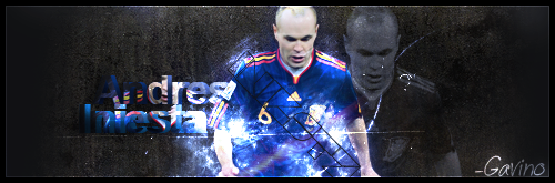 Andres Iniesta-Spain-Football Signatures Iniesta