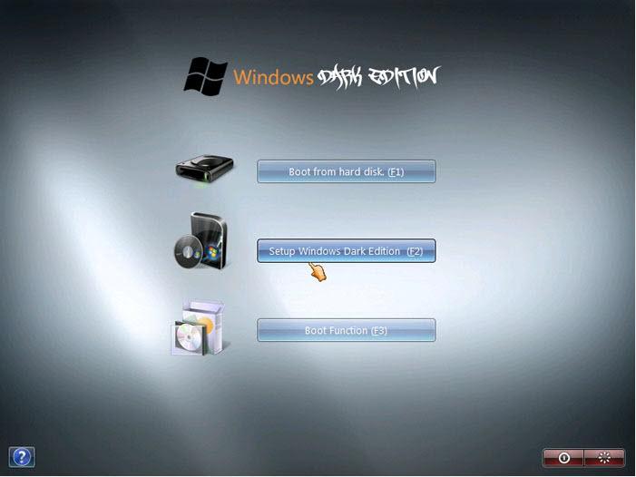 حصرياً : نسخة الويندوز الرائعة Windows XP SP3 Dark Edition بحجم 700 ميجا فقط !! تحميل مباشر وعلى اكثر من سيرفر ..!!! WinDark
