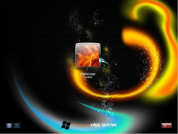 حصرياً : نسخة الويندوز الرائعة Windows XP SP3 Dark Edition بحجم 700 ميجا فقط !! تحميل مباشر وعلى اكثر من سيرفر ..!!! WinDark7