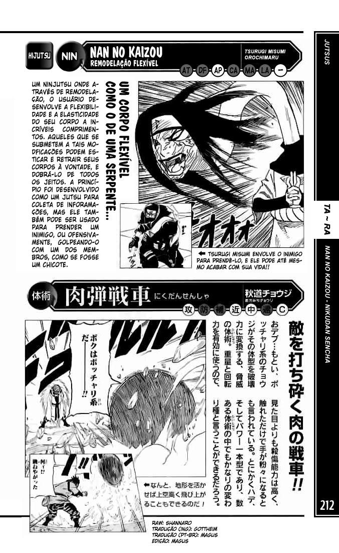 Mais poderoso do que você imagina #1: Orochimaru 212