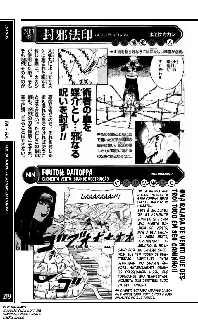 Mais poderoso do que você imagina #1: Orochimaru 219