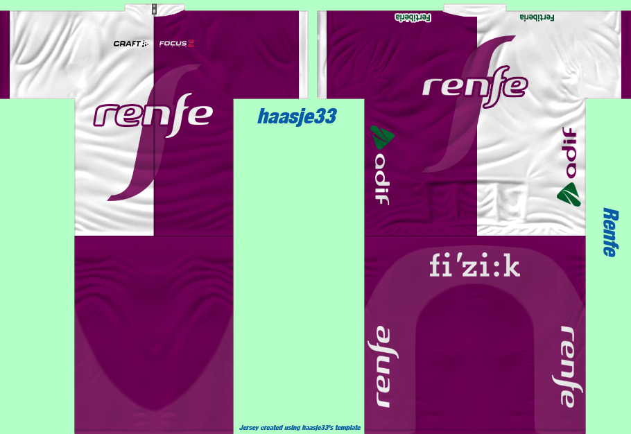 Renfe News Renfe_maillot