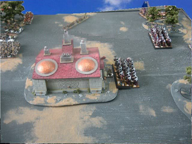 Rapport de bataille warhammer battle ! Tour1chargedesguerrierssurlabrasserie