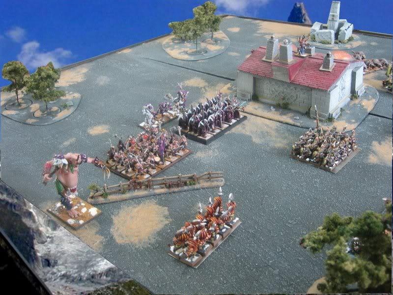 Rapport de bataille warhammer battle ! Tour2chargeratdesguerriersduchaos