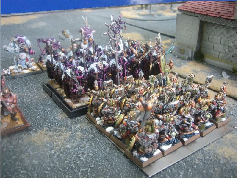 Rapport de bataille warhammer battle ! Tour2guerriersvslonguesbarbes