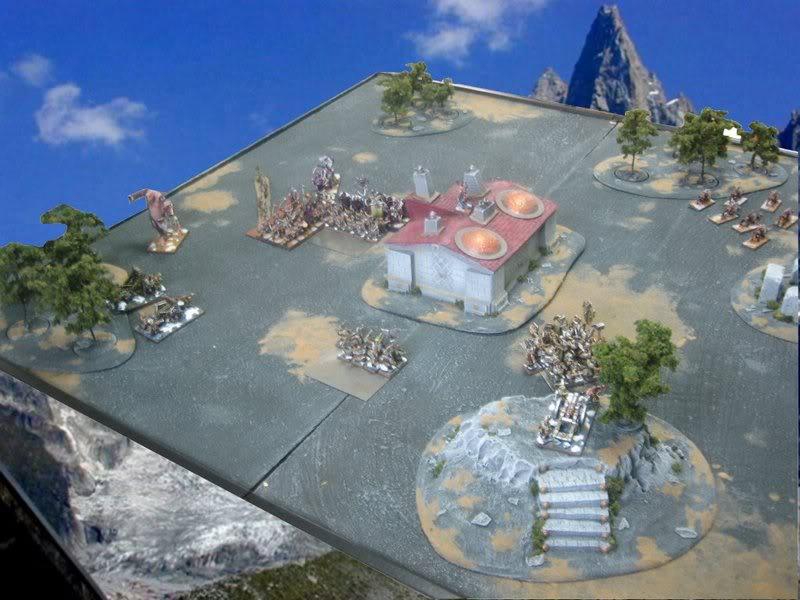 Rapport de bataille warhammer battle ! Tour4
