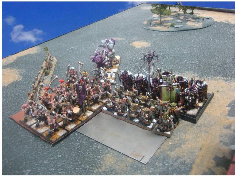Rapport de bataille warhammer battle ! Tour4chargedesmaraudeurs