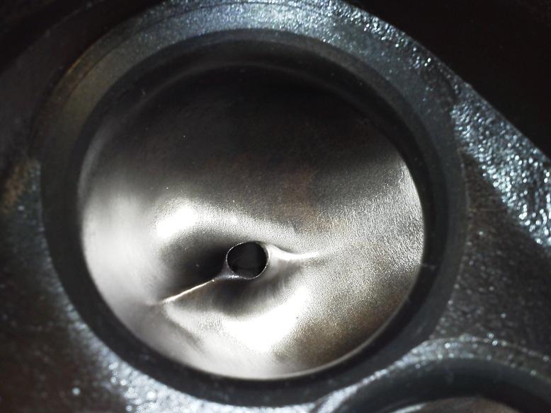 A.P.D. does an Iron 460 Ford Head (2.250 valve)  460FordTruckPullHead4