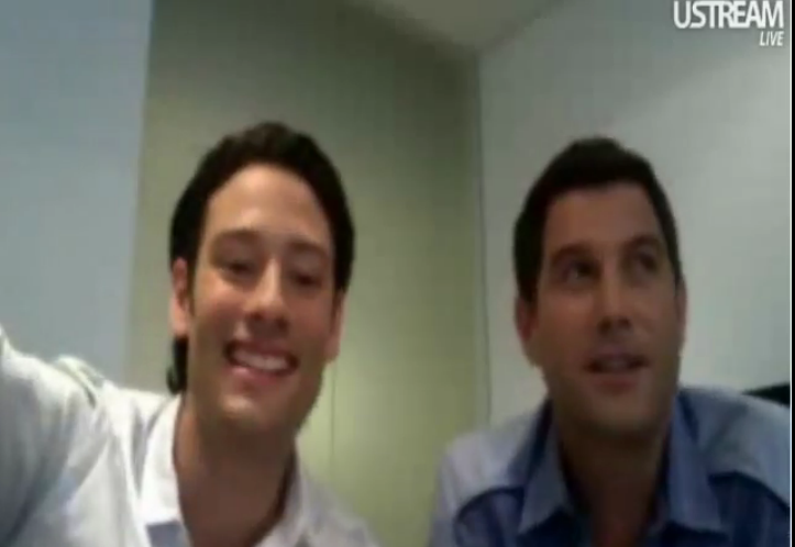 IL DIVO USTREAM WEBCHAT  8/3/2011  PICS BY Starstruck 767