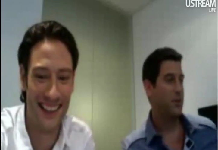 IL DIVO USTREAM WEBCHAT  8/3/2011  PICS BY Starstruck 776