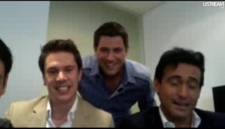 IL DIVO USTREAM WEBCHAT  8/3/2011  PICS BY Starstruck Id2