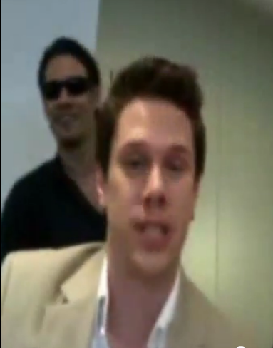 IL DIVO USTREAM WEBCHAT  8/3/2011  PICS BY Starstruck Omg5