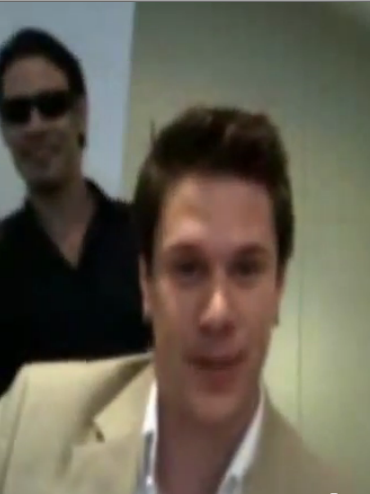 IL DIVO USTREAM WEBCHAT  8/3/2011  PICS BY Starstruck Omg6