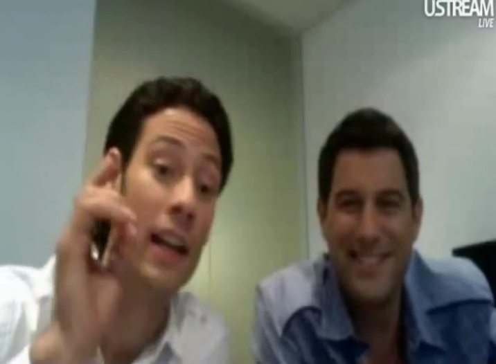 IL DIVO USTREAM WEBCHAT  8/3/2011  PICS BY Starstruck Urs44-1