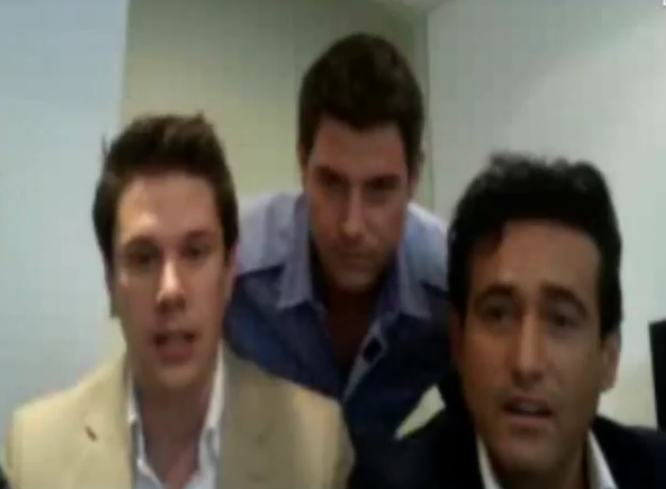 IL DIVO USTREAM WEBCHAT  8/3/2011  PICS BY Starstruck Wow