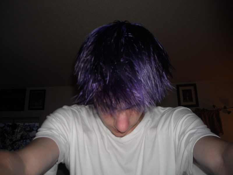 The Laz with BLOND HAIR!!?!? Purpletopview
