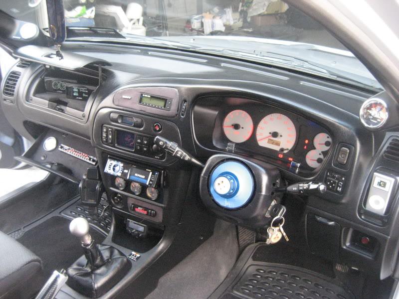 my 180sx drift/road car and evo 5 008