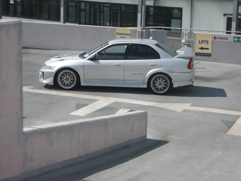 my 180sx drift/road car and evo 5 015-1
