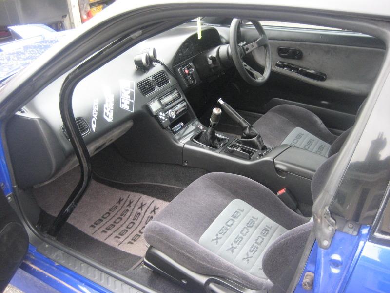 my 180sx drift/road car and evo 5 015-2
