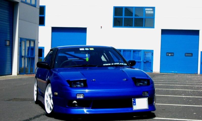 my 180sx drift/road car and evo 5 B180a