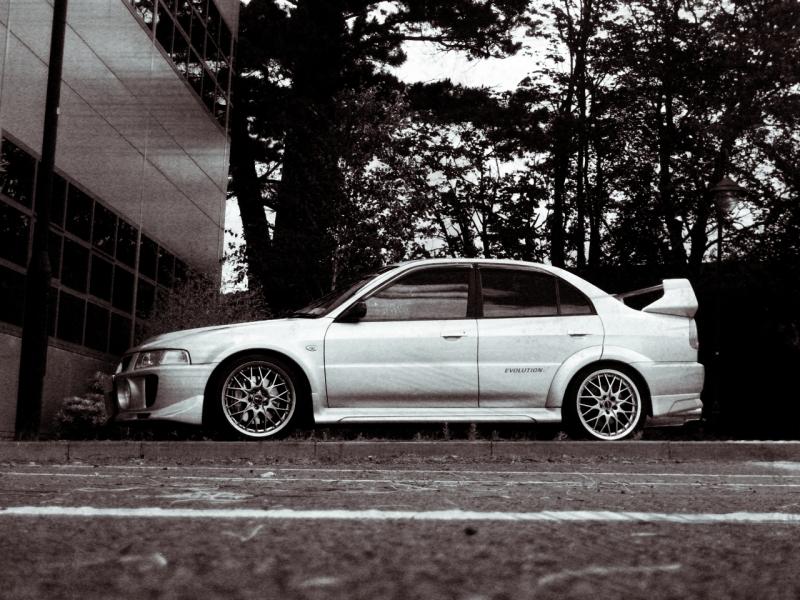my 180sx drift/road car and evo 5 Beeeee