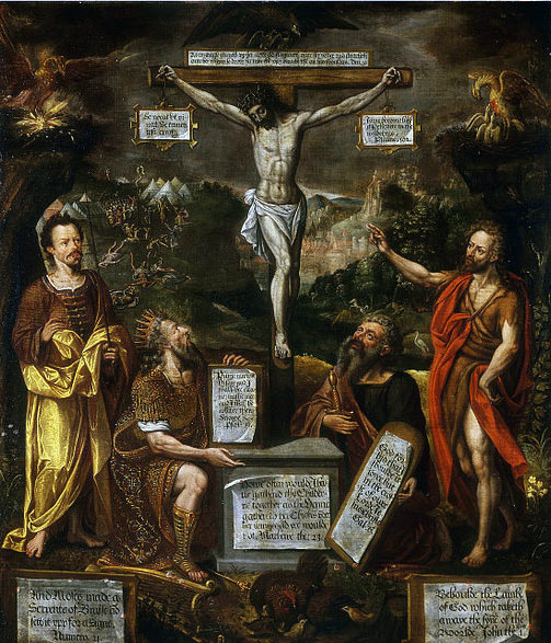 CONSULTORIO ROMÁNICO - Página 20 Famous-Jesus-Paintings-The-Crucifixion-with-Moses-David-St-Paul-and-St-John-the-Baptist_zps9a4436d5