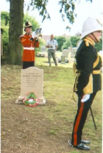 Rededication service for Pte. Caleb Wood & Robert Tongue 2004 3