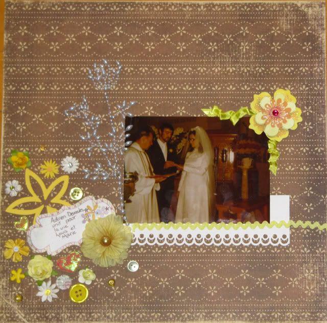 Album 40 ans de mariage de mes parents BagueMarie
