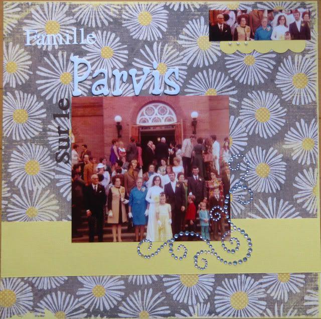 Album 40 ans de mariage de mes parents Famillesurleparvis