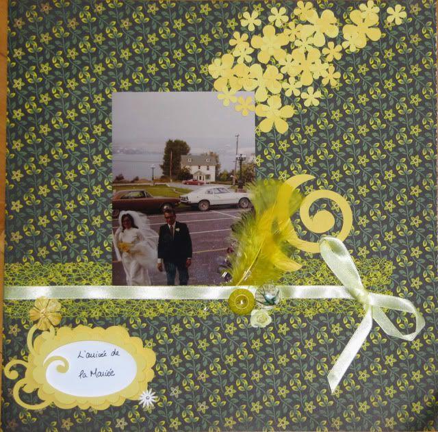 Album 40 ans de mariage de mes parents LarrivedelaMarie