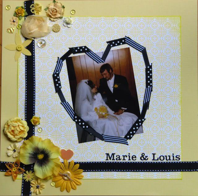 Album 40 ans de mariage de mes parents MarieetLouis