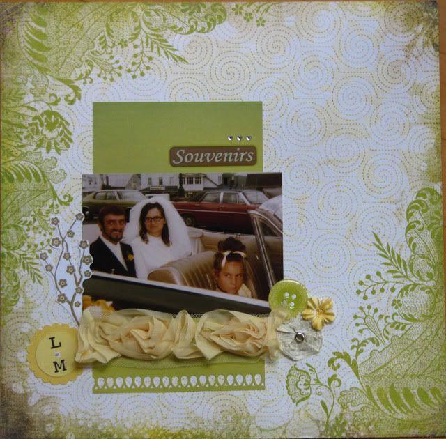 Album 40 ans de mariage de mes parents Souvenir