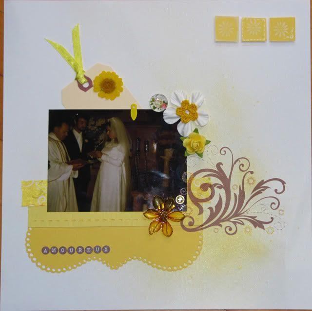 Album 40 ans de mariage de mes parents Amoureux