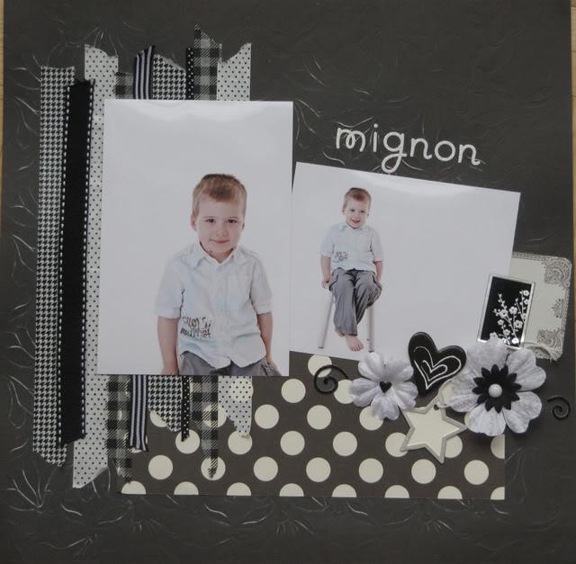 Février: défi black&white de picotine ! - Page 2 Mignon