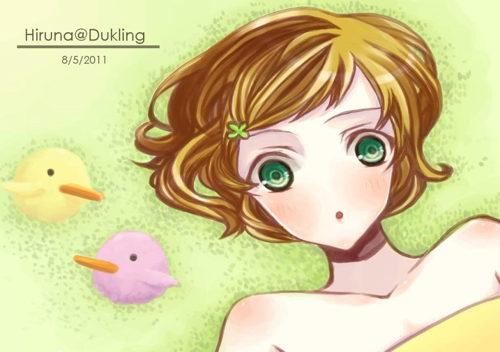 มุมภาพน้อยๆของhiruna[UPDATE] Duckling-girlhi