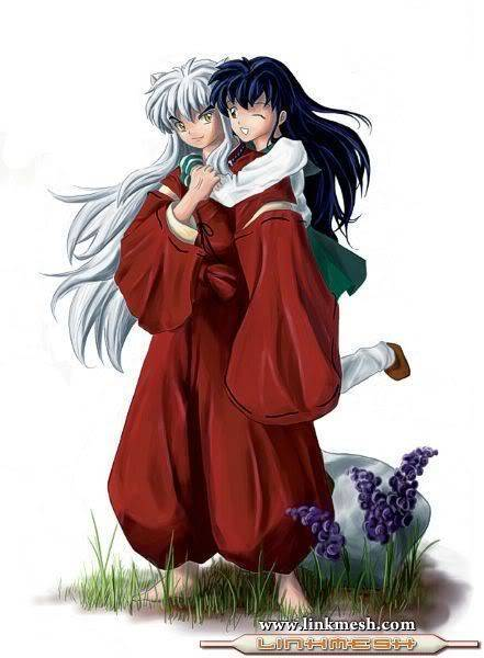 Romantic Pictures - Page 4 Inuyasha-and-Kagome-kagome-higurashi-10621493-441-600