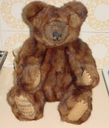 Mink Teddy Bear. To Kick off this Forum AMINKBEAR