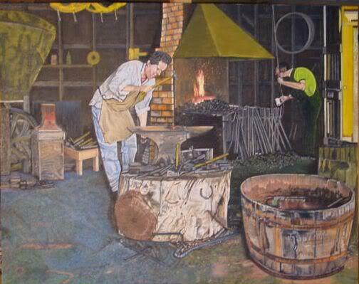 ART: Oil Paintings by Retribution BlacksmithPainting2