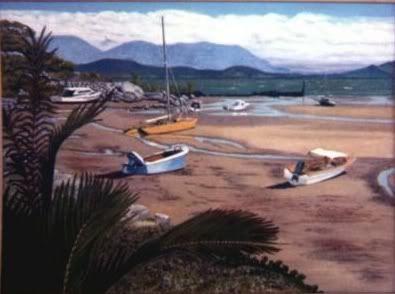 ART: Oil Paintings by Retribution MonsoonNorthQueensland