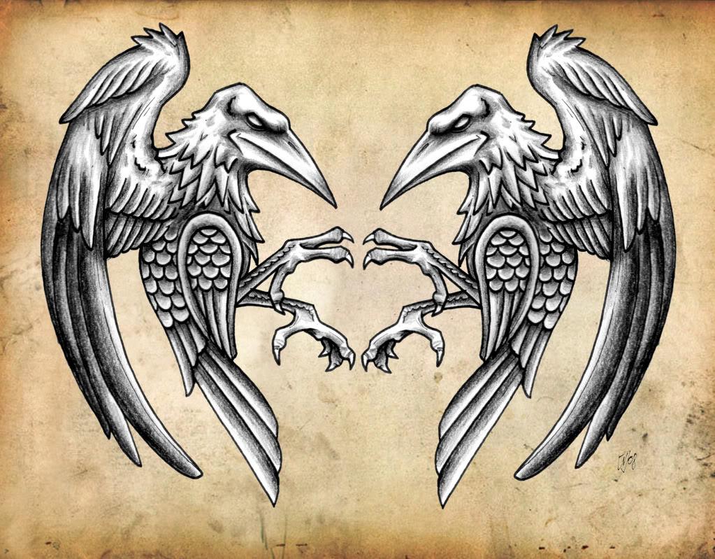 Tunic/Tabard Ravens