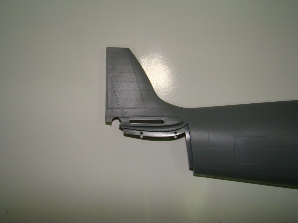 SPITFIRE MK.IXc 1:32 tamiya. DSC06404