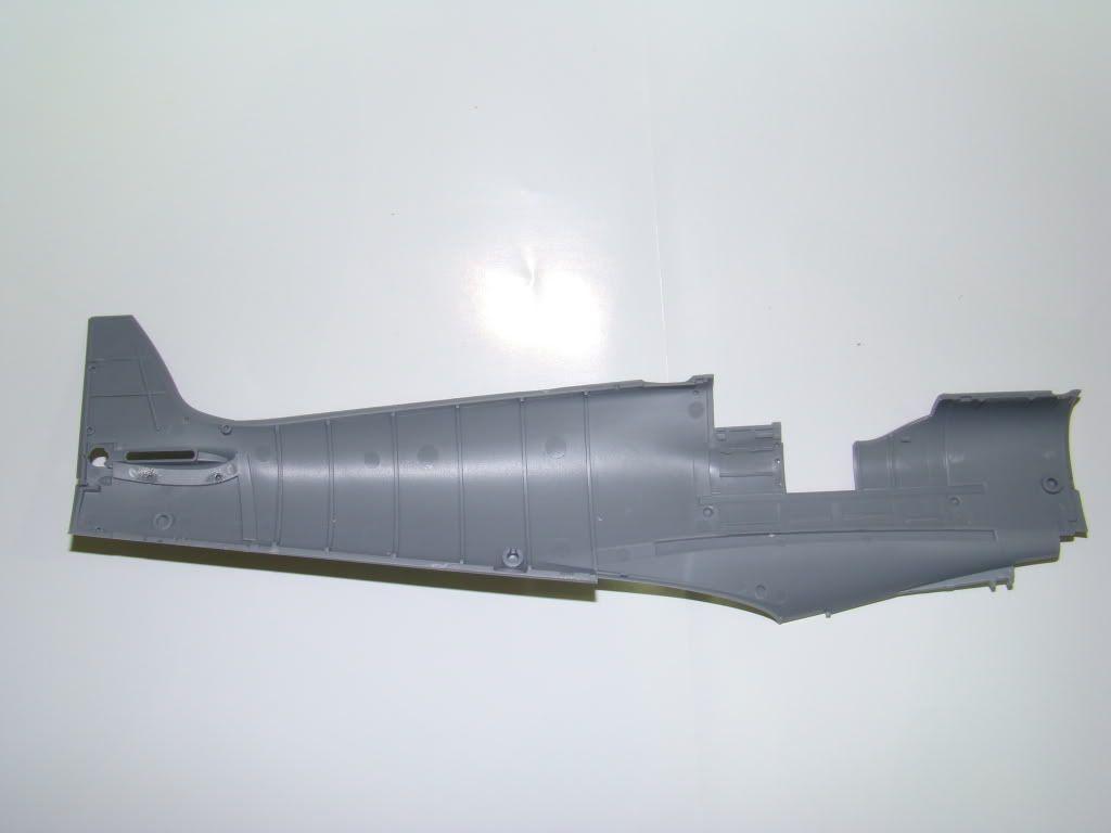 SPITFIRE MK.IXc 1:32 tamiya. DSC06405