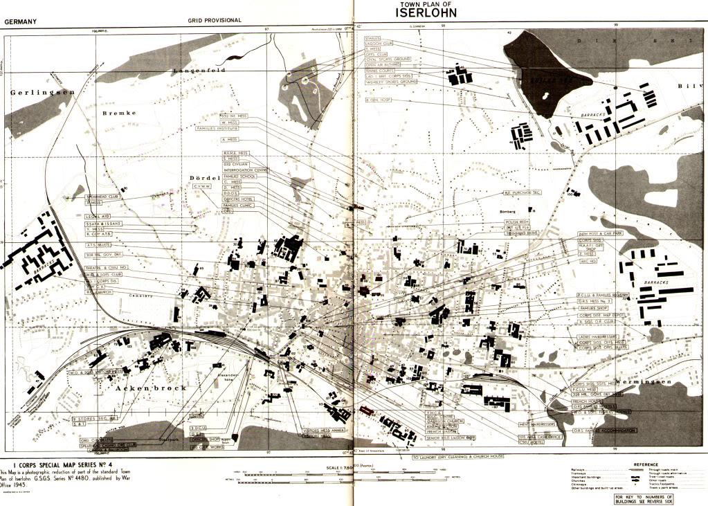 Iserlohn 1945 - 1947
