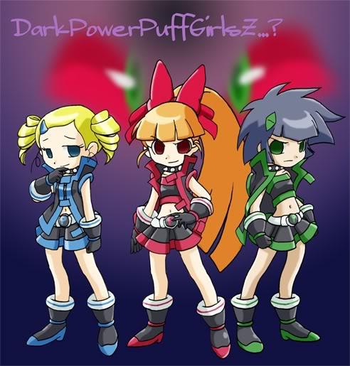 Demashita!Powerpuff Girls Z no Fanfic DarkPowerPuggGirlsZ