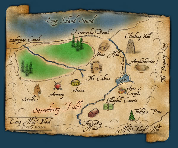 RPG Half-Blood Camp - Portal Acampamentomap