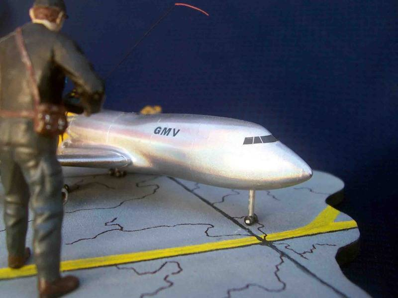 Volando un Boing 747 RC - Viñeta Mendoza024