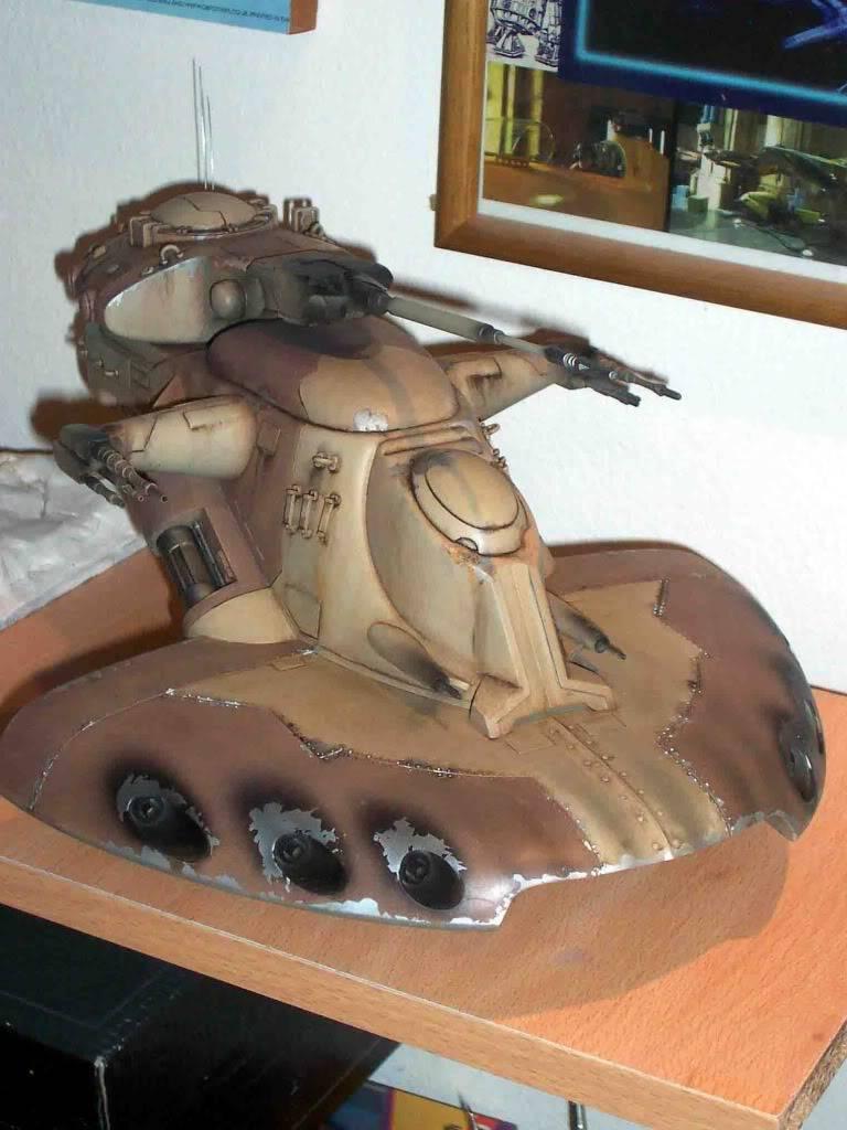 Star Wars: Trade Federation Tank 1