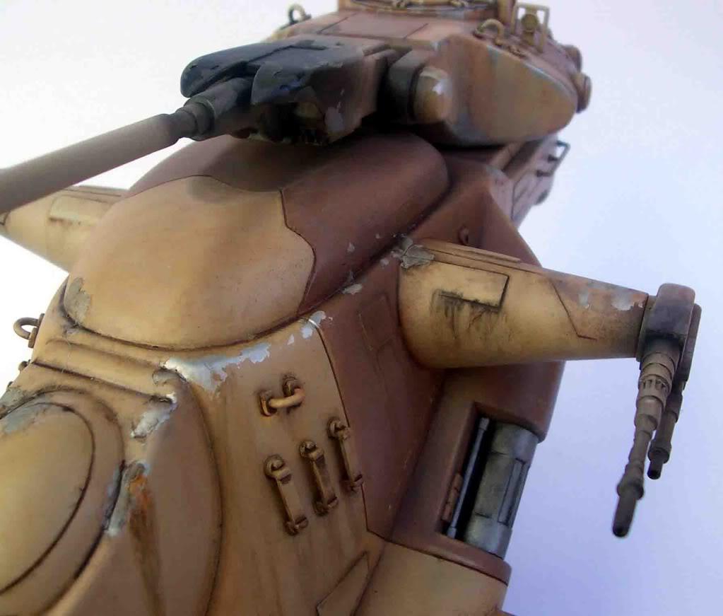 Star Wars: Trade Federation Tank 117