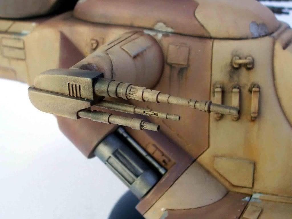 Star Wars: Trade Federation Tank 123