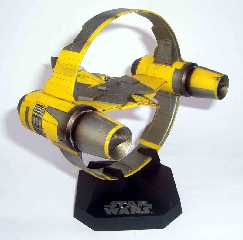 Star Wars - Jedi Starfighter con anillo de hipervelocidad Imagen002